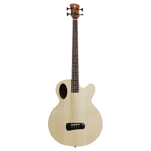 Spector Timbrenat Timbre Acoustic Bass - Natural With Gig Bag & Fishman Electronics - Red One Music
