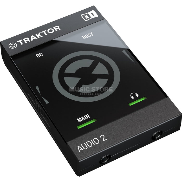Native Instruments TRAKTOR AUDIO 2 MK2 2-Channel Portable DJ Audio Interface