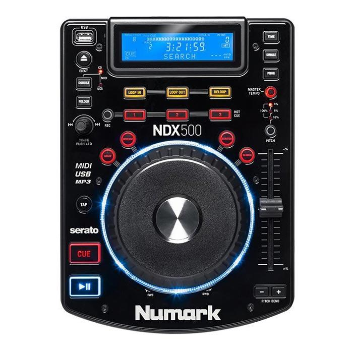 Numark Ndx 500  Numark Ndx500 Usbcd Player Amp Controller - Red One Music