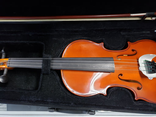 Set Allegro 4/4 Violin with Bow and Carrying Case - Red One Music