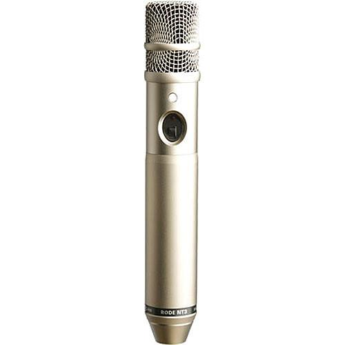 Rode Nt3 Medium-Diaphragm Condenser Microphone - Red One Music