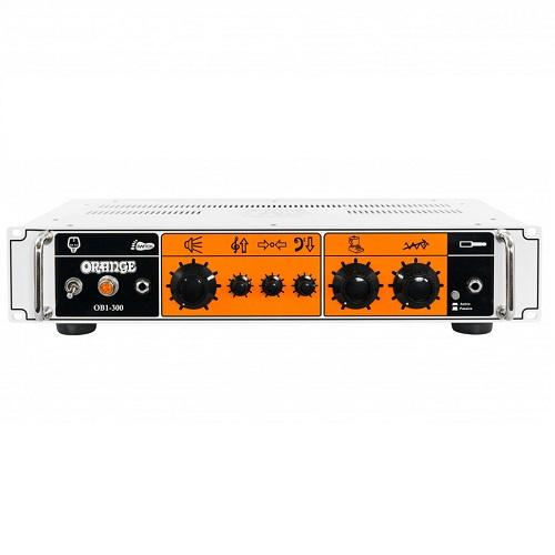 Orange Ob1-300 300W Single Channel Solid State Bass Head - Red One Music