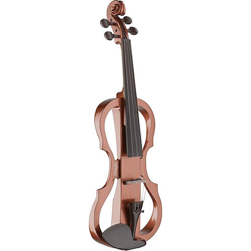 Stagg Evn X-4/4 Vbr Electric Violin Set With Violin Burst Colour