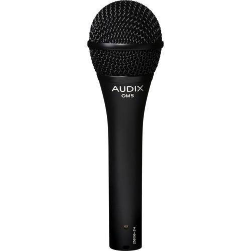 Audix Om5 Hypercardioid Dynamic Microphone - Red One Music
