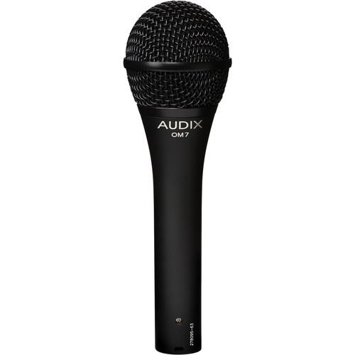 Audix Om7 Hypercardioid Dynamic Microphone - Red One Music