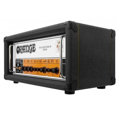 Orange Rk50H-Bk Mkiii Amp Guitar Orange Rk50H-Bk Mkiii Black Head - Red One Music