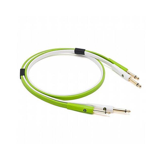 "OYAIDE NEO Class B 1/4"" to 1/4"" TS Cable, 1.0m - Green - Red One Music"