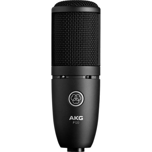 AKG P120 Cardioid Condenser Microphone - Red One Music