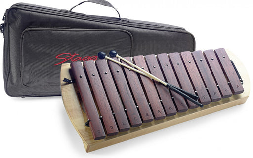 Stagg Xylophone XYLO-P16 13 + Touches 3 avec sac et maillets