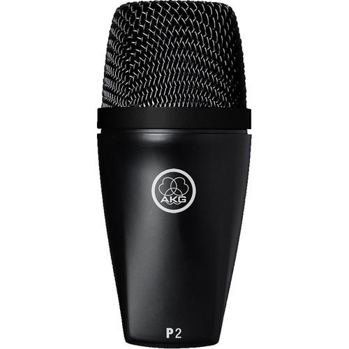 AKG P2 DYNAMIC MICROPHONE DESIGNED FOR LOW-PITCHED INSTRUMENTS AND KICK DRUM