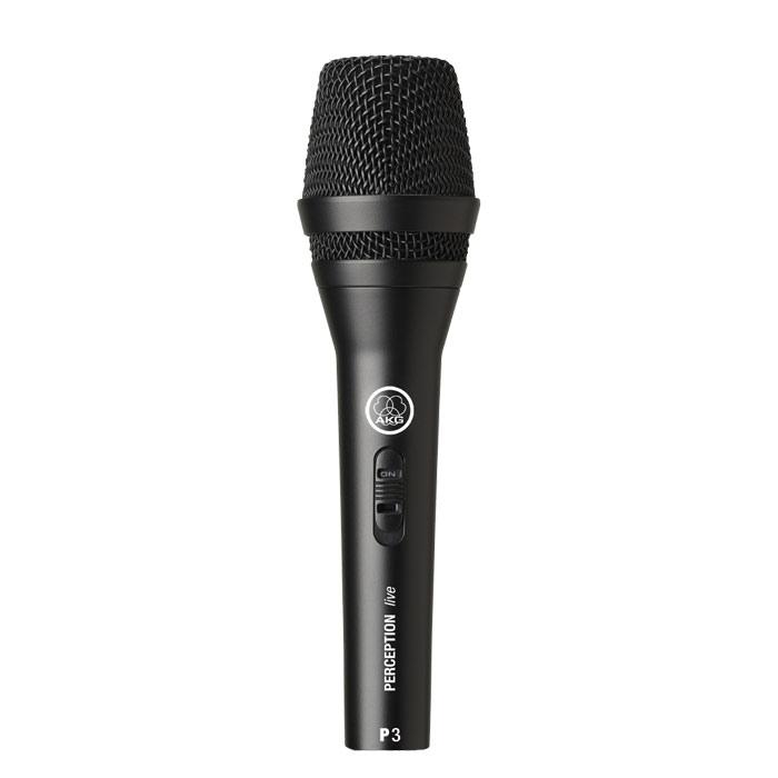 Microphone dynamique haute performance AKG P3 S - Red One Music