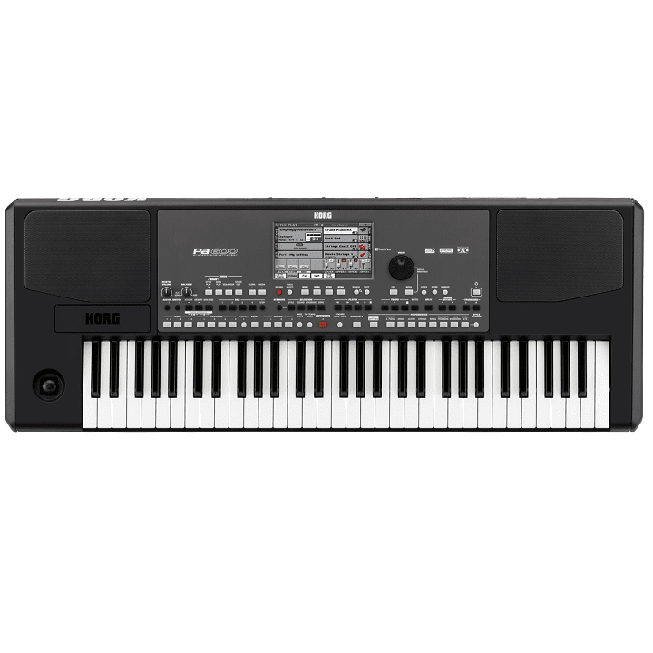 Korg PA600 61 61-Key Arranger With Color Touchviewspeakersusb - Red One Music
