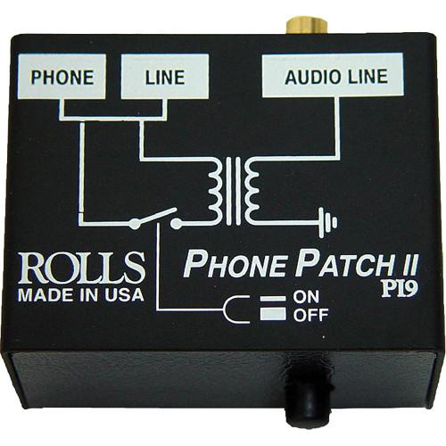 Rolls Pi9 Ii Telephone Output Adapter - Red One Music