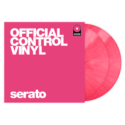 Serato Vinyl Performance Series Pair - Pressage de vinyle de contrôle rose 12 '- Rouge One Music