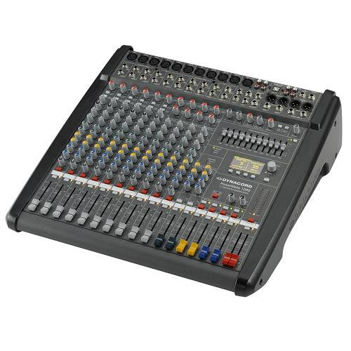 Dynacord Powermate 1000-3 In-Stock 10-Channel Compact Power-Mixer