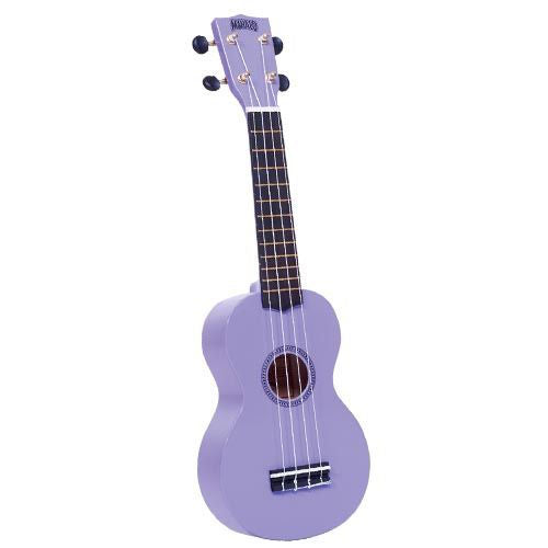 Mahalo Mr1-Pp Soprano Ukulele W/ Bag Rainbow Series - Purple - Red One Music