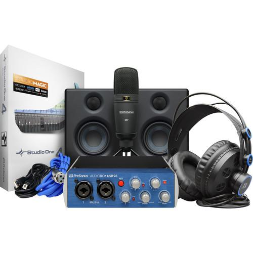 Presonus Audiobox Studio Ultimate Deluxe Recording Bundle
