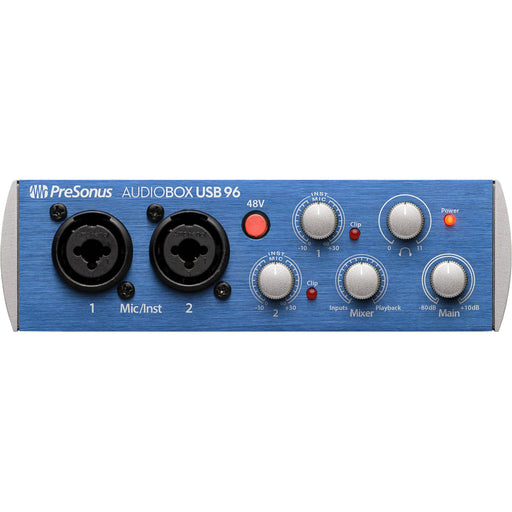Audiobox USB96 2 canaux 24-Bit96Khz Usb 20 Interface d'enregistrement audio - Red One Music