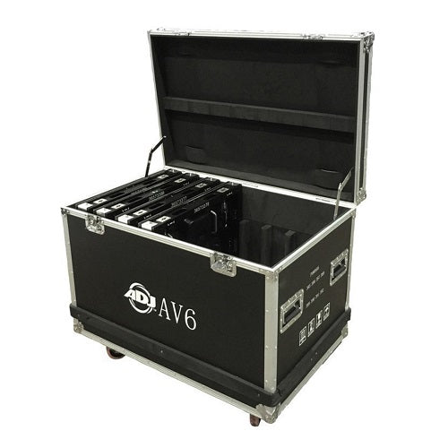American DJ Av6 Flight Case