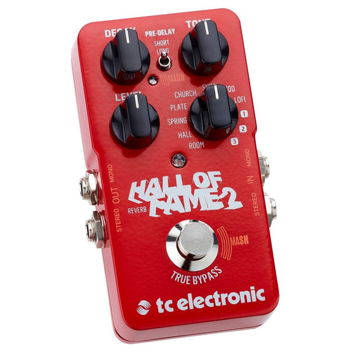TC ELECTRONIC HALLL OF FAME REVERB 2 EFFECTS PEDAL