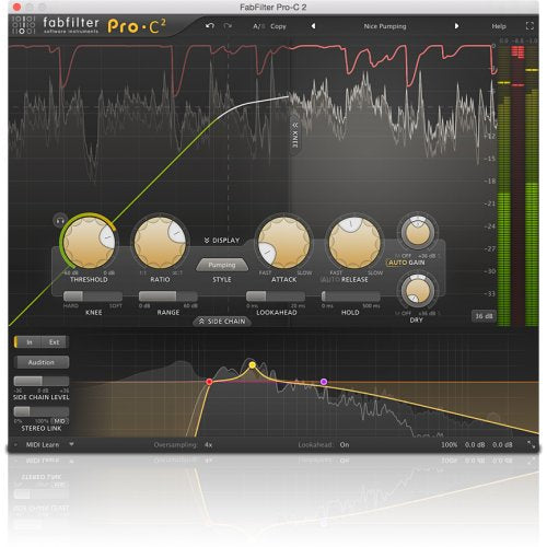 Fabfilter Pro-C 2 Compressor Plug-In (Download) - Red One Music
