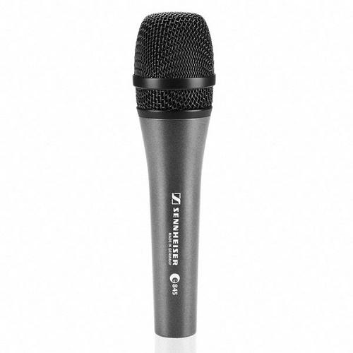 Sennheiser E 845 Handheld Dynamic Supercardioid Microphone - Red One Music