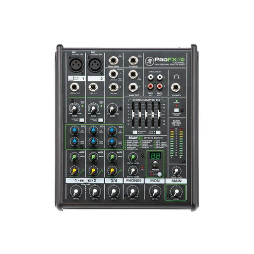 Mackie Profx4 Demo V2 4-Channel Professional Effects Mixer