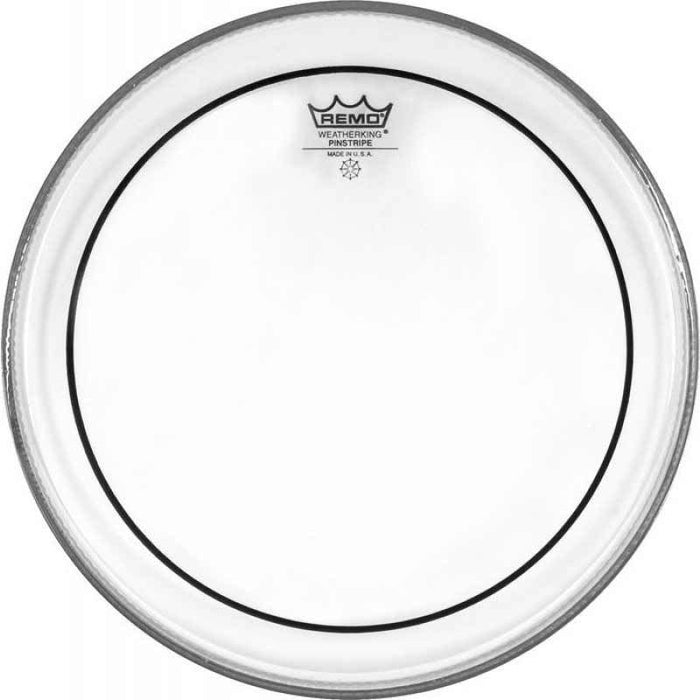 Remo 16 Clear Pinstripe Head 16 Inch Pinstripe Batter - Red One Music