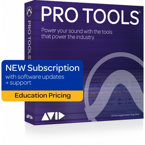Avid Pro Tools Subscription (Annual License) - Student/Teacher (Download) - Red One Music