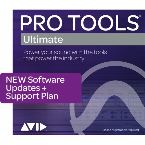 Avid Pro Tools Ultimate 1yr Upgrade + Support Plan (Download) - Red One Music