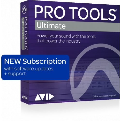 Avid Pro Tools Ultimate Software (Annual Subscription) (Download) - Red One Music