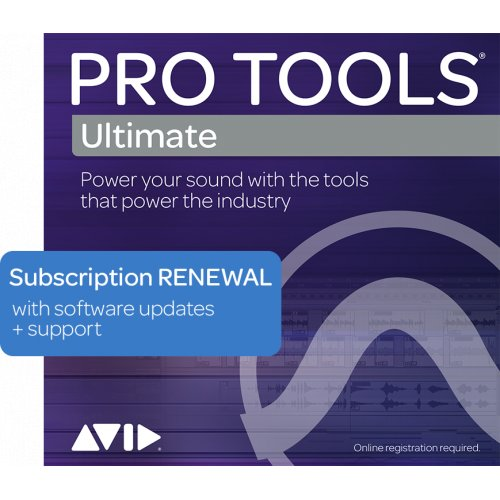 Plan de renouvellement annuel du support Avid Pro Tools Ultimate (Téléchargement) - Red One Music