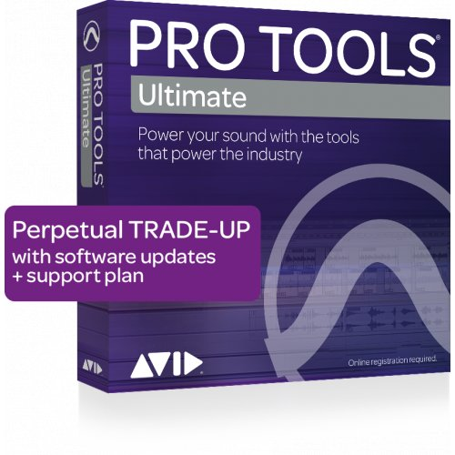 Avid Pro Tools Ultimate Trade-up (Perpetual) (Téléchargement) - Red One Music