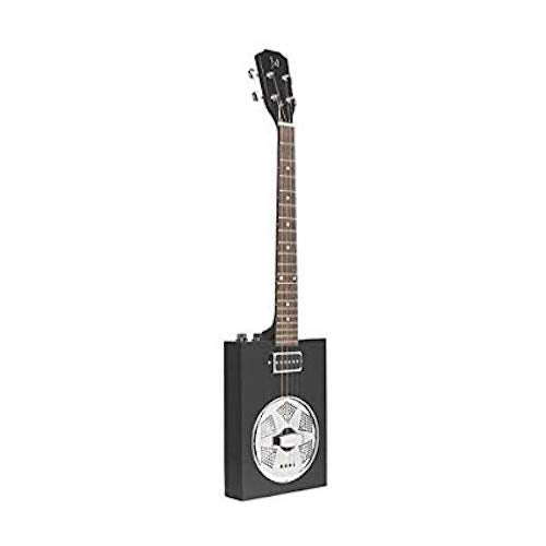 JN GuitarsCASK-PUNCHCOAL Acoustique 4-Guitare Cigar Box