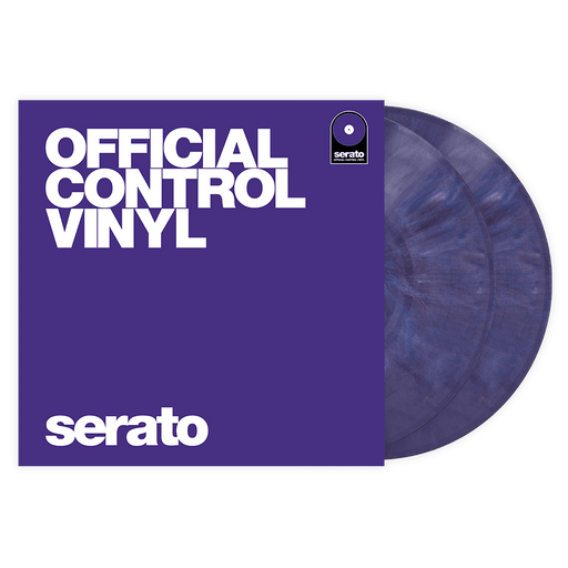 Serato Vinyl Performance Series Pair - Pressage de vinyle de contrôle violet 12 '- Rouge One Music