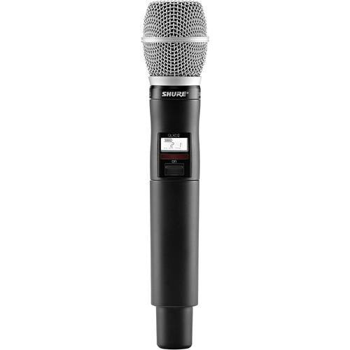 Shure Qlxd2/Sm86 Handheld Wireless Transmitter Frequency G50 - Red One Music