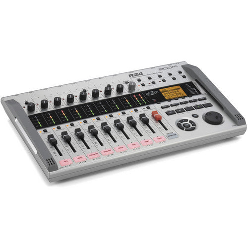Zoom R24  Zoom R24 Multitrack Recorder - Red One Music