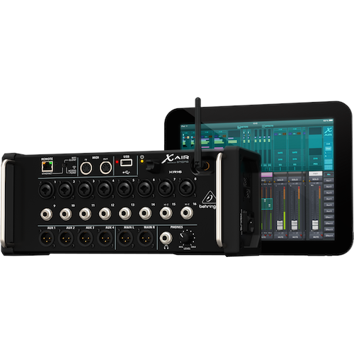 Behringer XR16 16-Channel Digital Mixer For Ipad Android Tablets - Red One Music