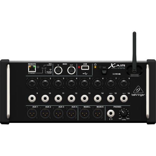 BEHRINGER XR16 16-CHANNEL DIGITAL MIXER FOR IPADANDROID TABLETS