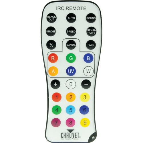 Chauvet Irc-6 Wireless Remote Control For All Chauvet Freedom Series And Irc Products - Red One Music