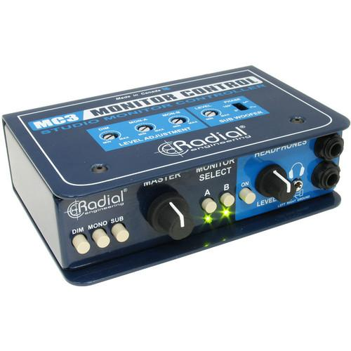 RADICAL MC3 STUDIO MONITOR CONTROLLER WITH HEADPHONE AMPLIFIER
