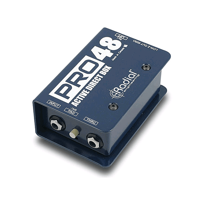 Radial Pro 48 Active Direct Box - Red One Music
