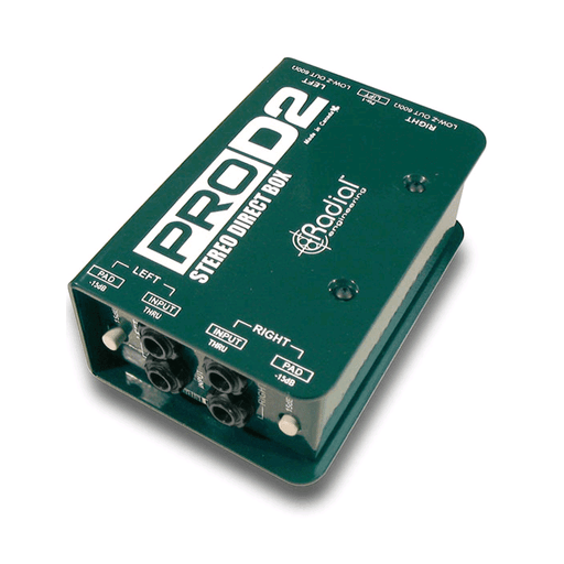 Radial Pro D2 Stereo Direct Box Designed For Keyboards