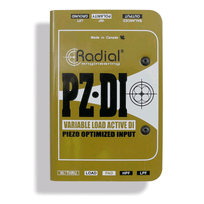 Radial Pz-Di Orchestral Instrument Di - Red One Music