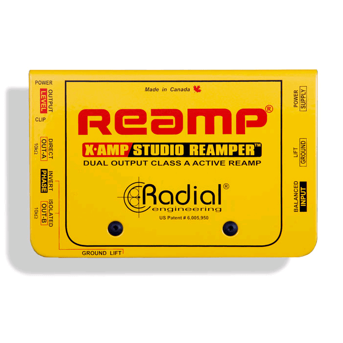 Radial X-Amp Active Re-Amplifier - Red One Music