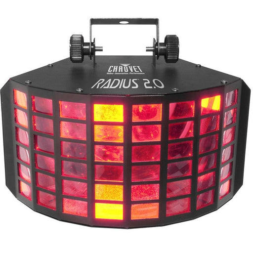 CHAUVET RADIUS 20 MULTI-COLORED EFFECTS THAT CREATE OVERLAPPING RINGS OF LIGHT