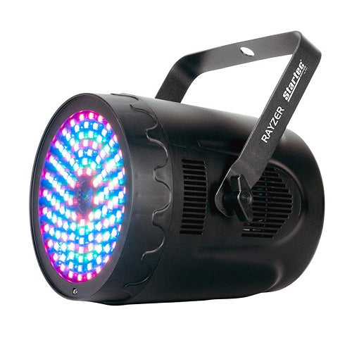 American DJ Startec Rayzer Laser + Led Light - Red One Music