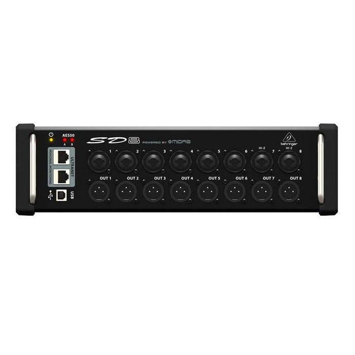 BEHRINGER SD8 STAGE BOX WITH 8 PREAMPS