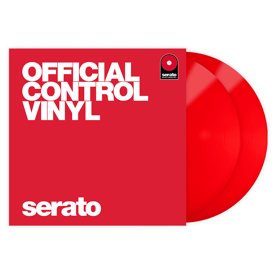 Serato Vinyl Performance Series Pair - Red 12' Control Vinyl Pressing
