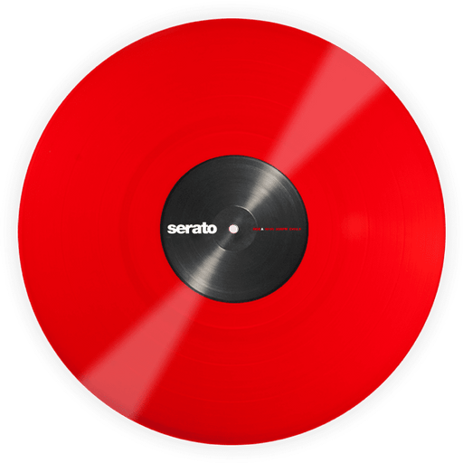 Serato Vinyl Performance Series Single - Rouge - Red One Music